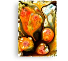 lava lumps # 3 Canvas Print