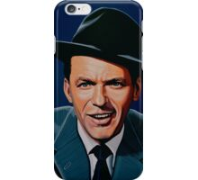 Frank Sinatra painting iPhone Case/Skin