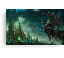 Illidan - Heroes of the storm Canvas Print