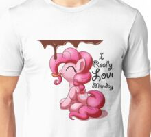 Pinkie Pie Love Mondays! Unisex T-Shirt