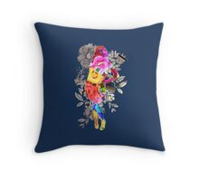The Most Exotic Flower Throw Pillow