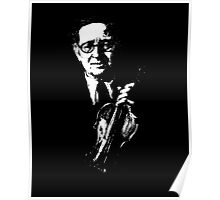 Horace Fellowes Violinist Poster