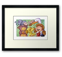 Party time! Framed Print