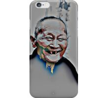 Who laughs lives long! iPhone Case/Skin