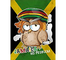 jamaican owl cartoon  Photographic Print