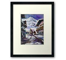 Schattberg, Austrian Alps Framed Print