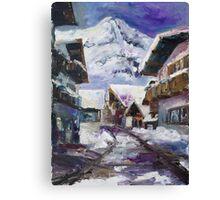 Schattberg, Austrian Alps Canvas Print