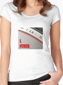 """L"" Fever Women's Fitted Scoop T-Shirt"