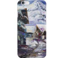 Schattberg, Austrian Alps iPhone Case/Skin