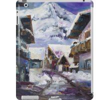 Schattberg, Austrian Alps iPad Case/Skin