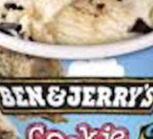 Ben & Jerry's Cookie Dough Sticker