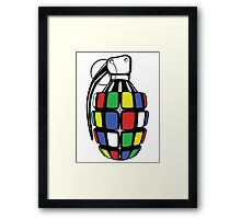 May Blow Your Mind... Framed Print