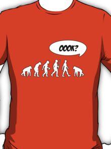 Evolution of Librarian Man T-Shirt