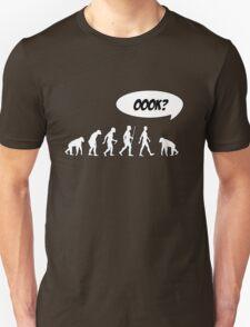 Evolution of Librarian Man Unisex T-Shirt