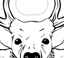 Deer Beard Sticker