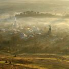 the village born from the fog.... by StefaniaC