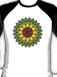 Abstract sunflower - Voronoi T-Shirt