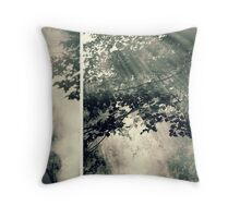through the enchanted forest Throw Pillow