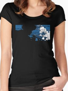 Smoking Spike Spiegel Women's Fitted Scoop T-Shirt