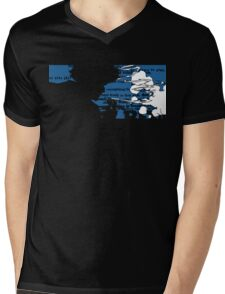 Smoking Spike Spiegel Mens V-Neck T-Shirt