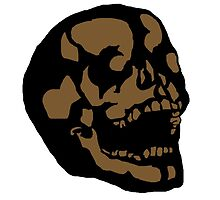 Brown Skull by SmoothSketcher
