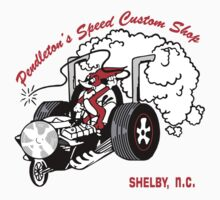 Pendletons Speed Shop Baby Tee