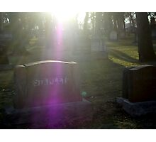 freaky graveyard Photographic Print