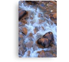 Soft Water Flow Canvas Print