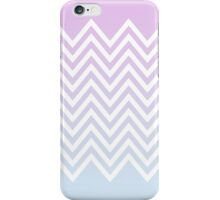 gradient with triangle pattern iPhone Case/Skin