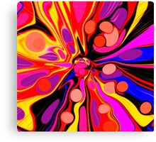 Once Upon A Groovy Time Canvas Print