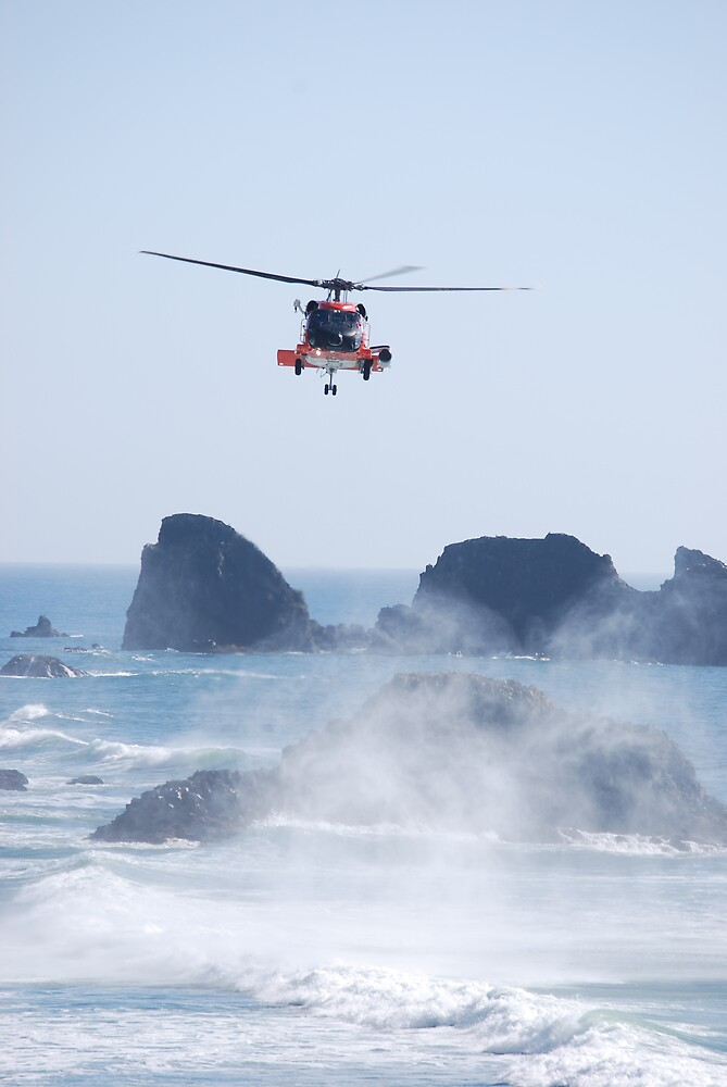 Helicopter Rescue by Englandken