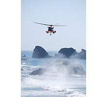Helicopter Rescue Photographic Print