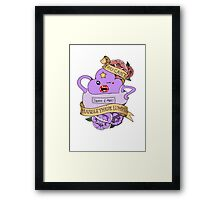 You Can't Handle These Lumps Framed Print