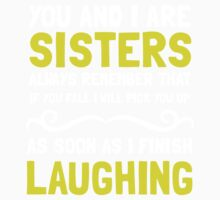 Sisters Laughing 2 Kids Clothes