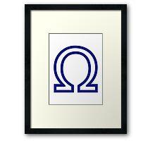 Omega Framed Print