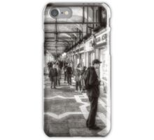 People under the arcades iPhone Case/Skin