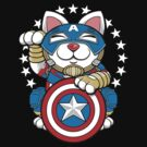 Lucky Cap Cat by cryface