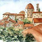 Italian Skyline by LinFrye