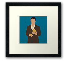 Flynn Carsen - The Librarians Framed Print