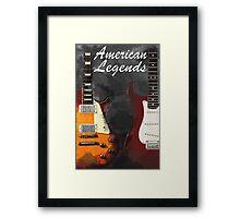 American Legends Framed Print