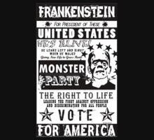 Frankenstien for President political poster by ImageNation