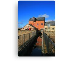 Old Mill, Somerford Keynes Canvas Print