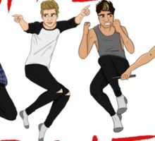 Rock Out with your Socks Out 5SOS tour Sticker