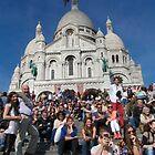 Sacre Coeur Faithful by phil decocco