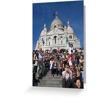 Sacre Coeur Faithful Greeting Card