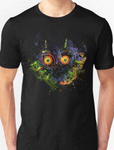 Majora's Mask Paint Splatter Unisex T-Shirt