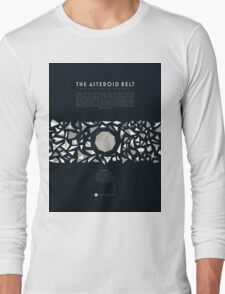 Ceres and the asteroid belt Long Sleeve T-Shirt