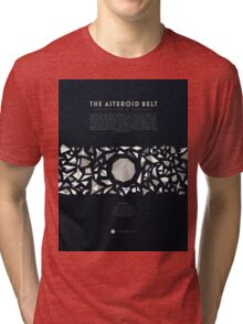 Ceres and the asteroid belt Tri-blend T-Shirt