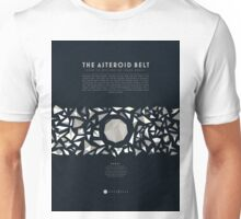 Ceres and the asteroid belt Unisex T-Shirt