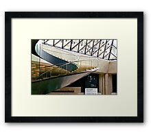 Louvre Sweeping Staircase Framed Print